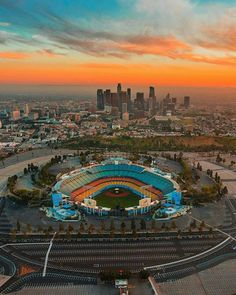Dodge Stadium Los Angeles California by Jasper de Jesus | California Feelings