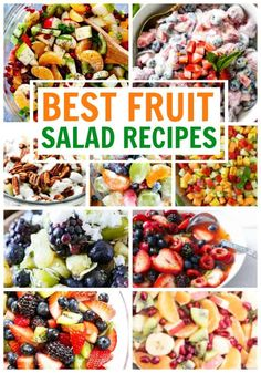 Best Fruit Salad Recipes is One Of the Liked Salad Recipes Of Many People Round the World. Besides Simple to Create and Good Taste, This Best Fruit Salad Recipes Also Health Indeed. Best Fruit Salad, Fruit Salad Recipes, Chicken Salad Recipes, Fruit Salads, Pasta Recipes, Side Dishes Easy, Side Dish Recipes, Easy Salads, Easy Meals