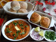 oceanofrecipes.com has a huge selection of recipes to choose from. The site provides recipe for Pav Bhaji (Mumbai street food).