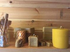 You can't beat your own beeswax. The smell look and feel is fantastic #beekeeper #beeswax #beeswaxcandles