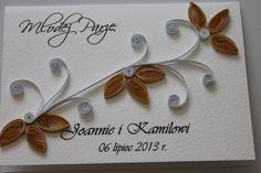quilling kartka na ślub - Szukaj w Google