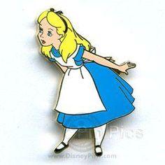 Alice in Wonderland--Disney Pin