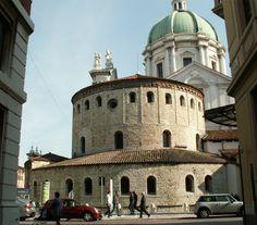 Brescia, il Duomo Vecchio.