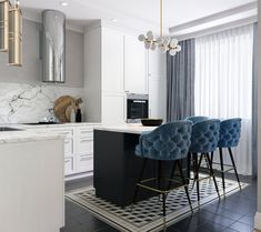 beautiful and affordable dining room decoration ideas 31 Art Deco Kitchen, Home Decor Kitchen, Home Kitchens, Kitchen Ideas, Eclectic Kitchen, Room Kitchen, Modern Kitchen Design, Interior Design Kitchen, Interior Decorating