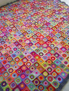 patchwork granny square blanket   SAMSUNG DIGITAL CAMERA   Flickr