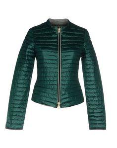 DUVETICA Women's Down jacket Green 12 US