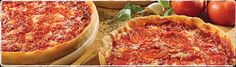 Lou Malnati's...the best Chicago-style deep dish pizza ever. I like the sausage and onion.