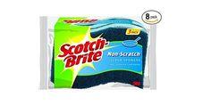 24 Count Scotch-Brite Non-Scratch Scrub Sponge for $10.11 at Amazon for Prime Members