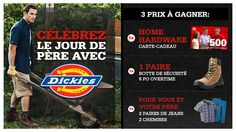 You should enter Celebrez le jour De Pere avec Dickies. There are great prizes and I think one of us could win!