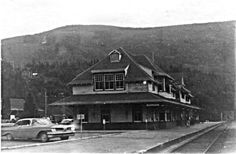 Nelson train station 1960....BC  Canada