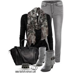 Black & Gray Fall fashion