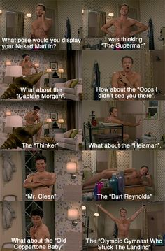 How I Met Your Mother: The Naked Man