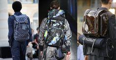 dtendances homme mode printemps été 2017 Backpack