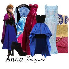 "Frozen - Anna - ""DM nerds"" by aksmasads on Polyvore"
