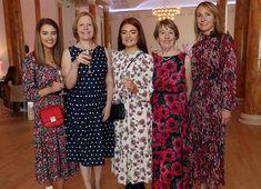 Megan Freeman (left) with Heather Murphy, Lily Murphy, Rosemary Scollard and Gayle Patton. Celebrity Gossip, Charity, Irish, Lily, Female, Celebrities, Beauty, Dresses, Fashion