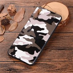 Camouflage Soft TPU Back Cover for Samsung Galaxy - Black White - Galaxy 2018 Cases - Guuds - Best of Wallpapers for Andriod and ios All Mobile Phones, New Phones, Cute Cases, Cute Phone Cases, Samsung Cases, Samsung Galaxy, Capas Samsung, Iphone 7 Wallpapers, Huawei Phones