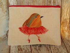 Bubusie: Kosmetyczka ptasia baletnica