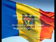 """Moldovan National Anthem - """"Limba Noastră"""" (RO/EN)"""