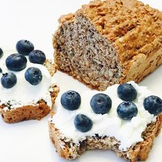 Low Carb Recipes, Healthy Recipes, Banana Bread, Healthy Snacks, Food And Drink, Yummy Food, Yummy Yummy, Sweets, Homemade