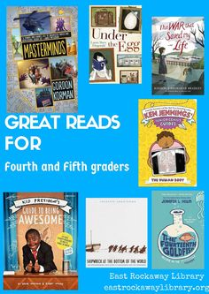 East Rockaway Public Library: Read This! Grades 4-5  Great Reads for fourth grade, great reads for fifth grade -