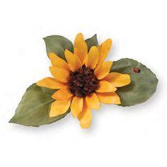 Susan's Garden -  Steel Craft Die - Sizzix Thinlits Dies 7/Pkg Sunflower 658417 by FeatherMoonEmporium on Etsy