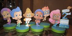 Bubble Guppies Birthday Party Custom Centerpieces