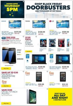 Best Buy 2016 Black Friday Ad Preview