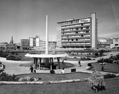 Hobart - Railway Roundabout showing the Travel Lodge and Transport Commission