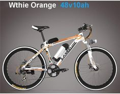 Electric bicycle 26 inches 36/48 v lithium aluminium alloy electric mountain bike adult hybrid dynamical bicycle