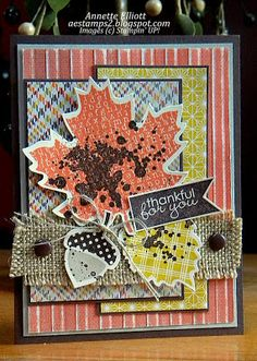 AEstamps a Latte...: Stampin' Up! Wonderfall Card