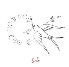 luli. Embroidery Pattern. See finished work. jwt