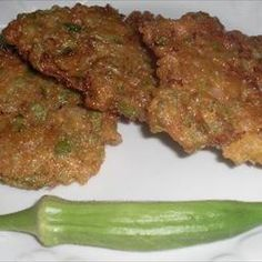 Fried Okra Patties on BigOven: Fried Okra Patties are a wonderful Southern twist of fresh okra, onion and corn meal. Can be used for a snack or a side dish.