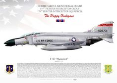 UNITED STATES AIR FORCE North Dakota Air National Guard . 119th Fighter Interceptor Group . 178th Fighter Interceptor Squadron. 1980