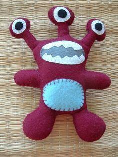 monster felt pattern - Google Search