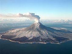Mount St. Augustine - Alaska (24. Januar 2006)