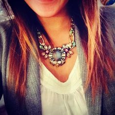 The right accessory. #JewelMint #necklace #accent