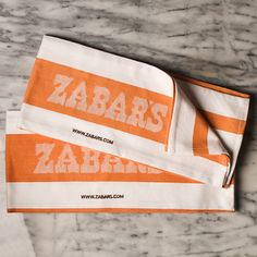 Zabar's Kitchen Towel - would look awesome in my kitchen