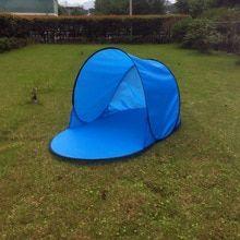 Us 12 77 33 Off Sun Shelter Foldable Tent For Beach Summer Outdoor Uv Tarp Sun Shade Pop Up Cabana Camping Awning Sunshade Beach Tents Canopy In Sun Shelter F