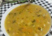 Εύκολη συνταγή για Φασολάδα Cheeseburger Chowder, Soup, Cooking, Kitchen, Soups, Brewing, Cuisine, Cook