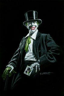 The Joker by Greg Hildebrandt. Some more Joker for you guys ^-^ - Ander Joker Comic, Joker Art, Batman Art, Batman Comics, Comic Art, Dc Comics, Heath Ledger, Comic Book Characters, Comic Books