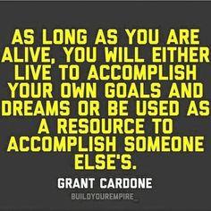 Be the boss ~ Grant Cardone #grantcardone #grantcardonequotes #10x