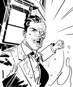 Two-Face by Evan Shaner