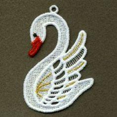 FSL Swans 3 03 machine embroidery designs