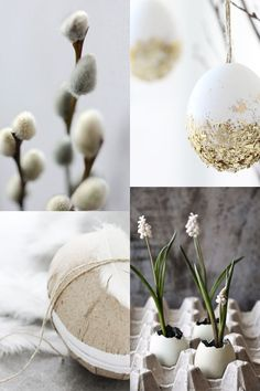EASTER MOOD modern and minimalist spring decorations