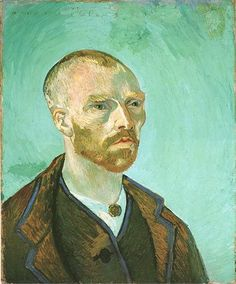 "Vincent van Gogh ""Self-Portrait (Dedicated to Paul Gauguin)"" Arles, September, 1888"
