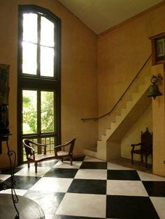 architect Geoffrey Bawa's townhouse in Colombo, Sri Lanka, 1960-1998