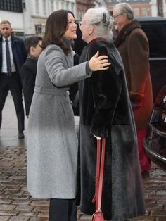 25 December 2016 - The Danish Royal Family attend Christmas Day Service