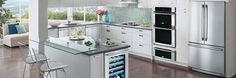 Electrolux Appliances Counter-Depth French Door Refrigerator with IQ-Touch™ Controls EI23BC30KS