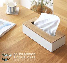 ティッシュボックス ティッシュケース COLOR&WOOD TISSUE CASE