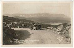 Hardangervidda veien Haugastøl-Eidfjord 1930-tallet foto: S. Gran